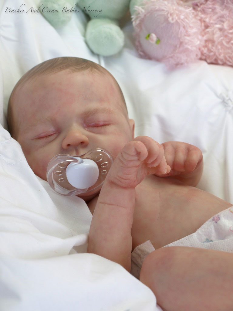 Cute Reborn Baby Doll Soft Silicone 18 Inch Handmade Baby: NAOMI REBORN DOLL KIT CREATED BY DONNA LEE - PRE SELL